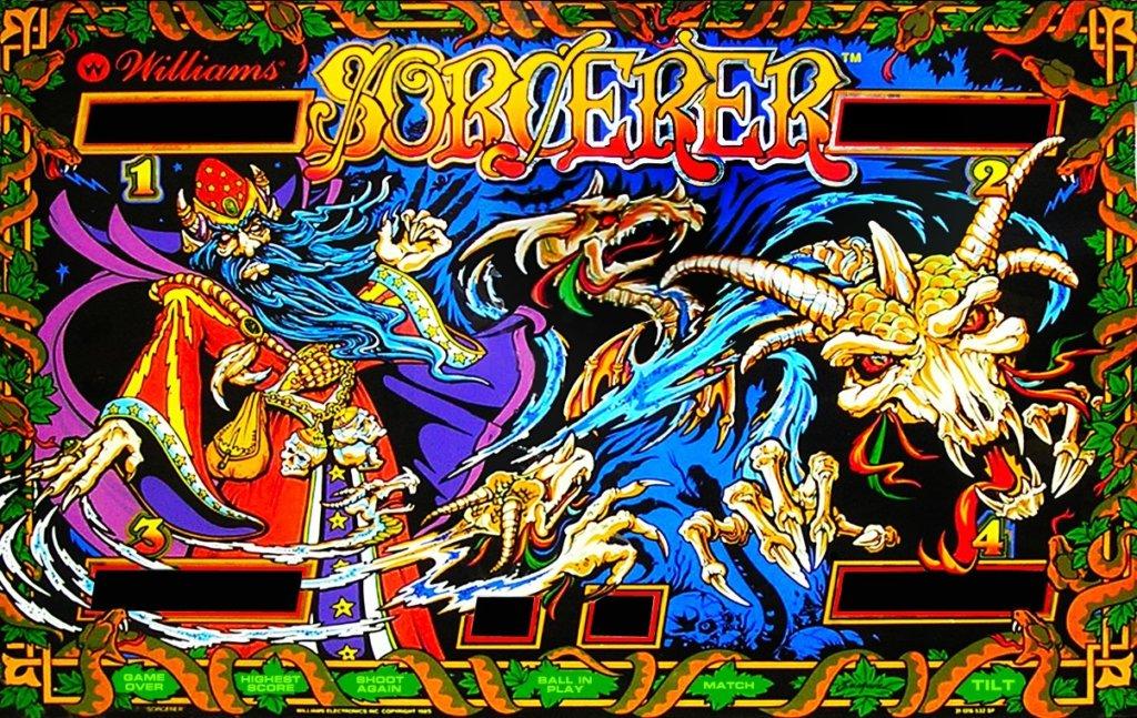 Sorcerer Pinball Mods