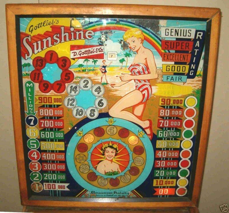 Sunshine Pinball Mods