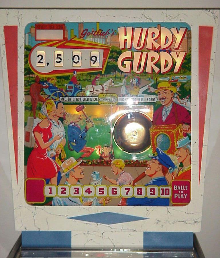 Hurdy Gurdy Pinball Mods