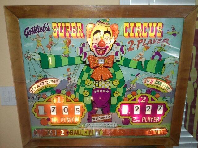 Super Circus Pinball Mods