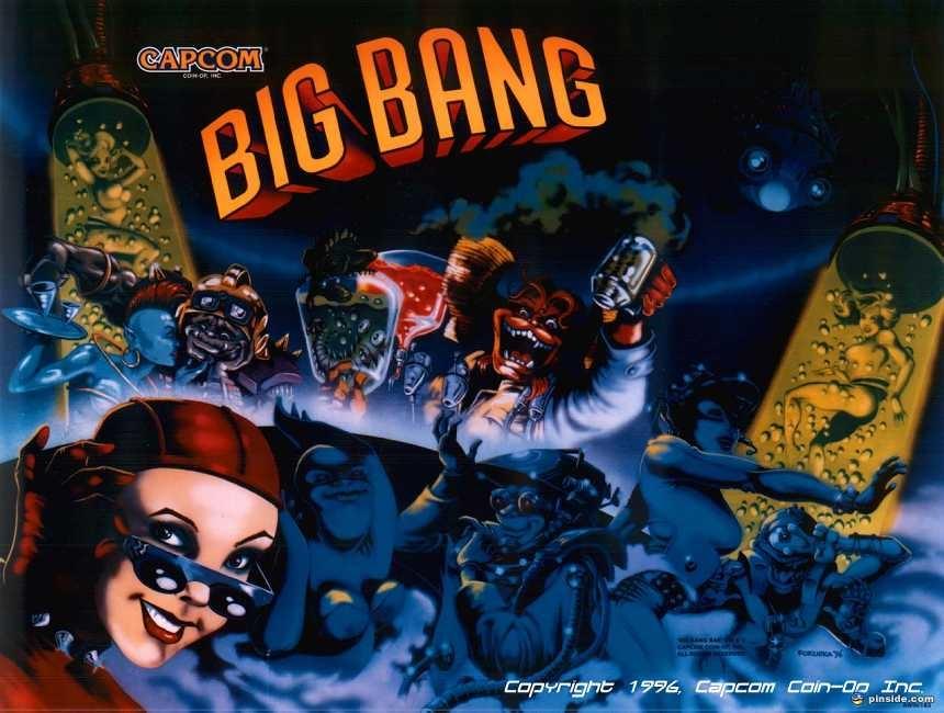 Big Bang Bar Pinball Mods