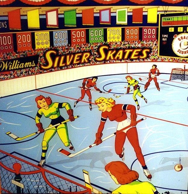 Silver Skates Pinball Mods