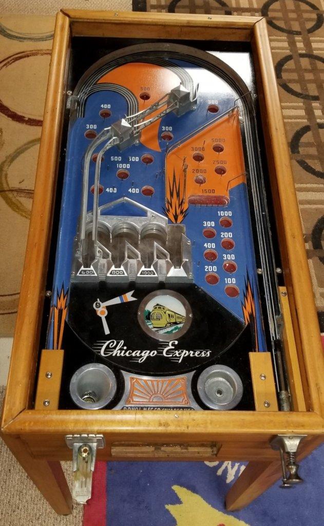 Chicago Express Pinball Mods