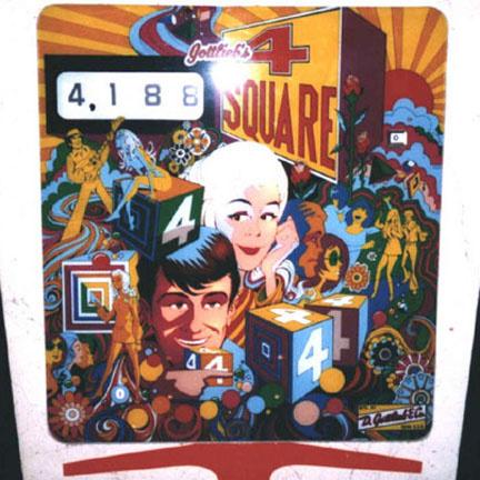 4 Square Pinball Mods