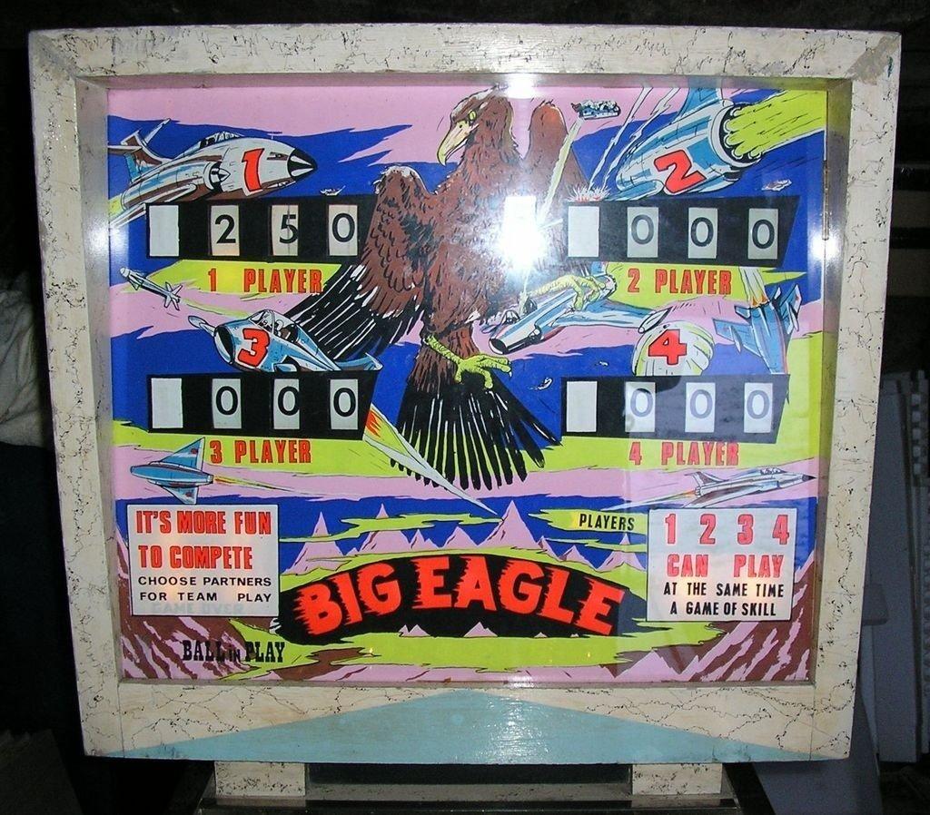 Big Eagle Pinball Mods