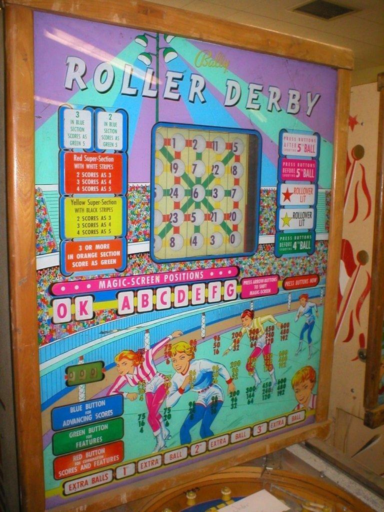 Roller Derby Pinball Mods