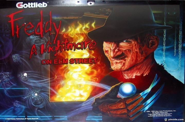 Freddy: A Nightmare On Elm Street Pinball Mods