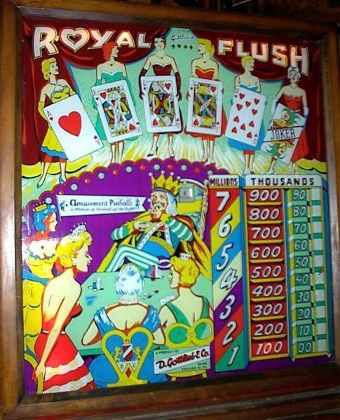 Royal Flush Pinball Mods