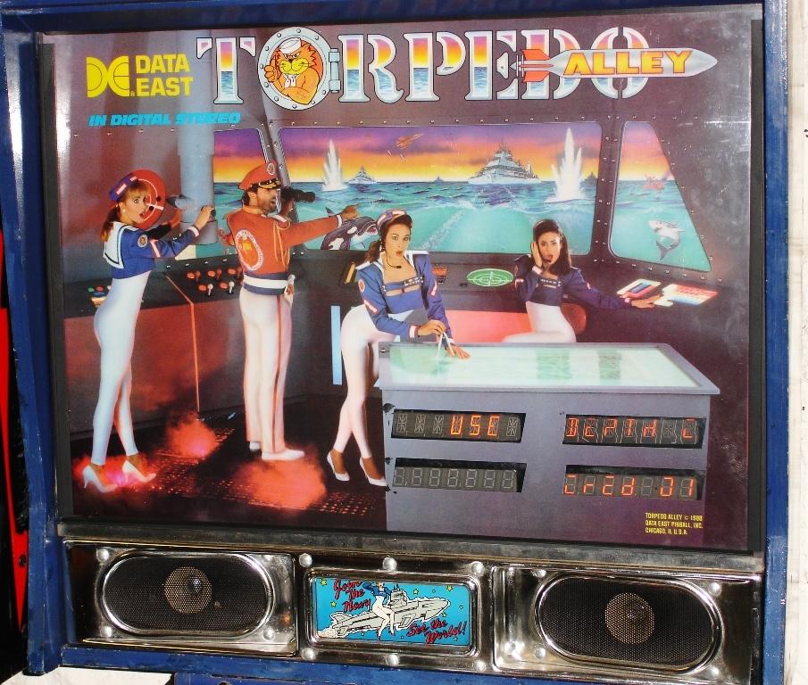 Torpedo Alley Pinball Mods