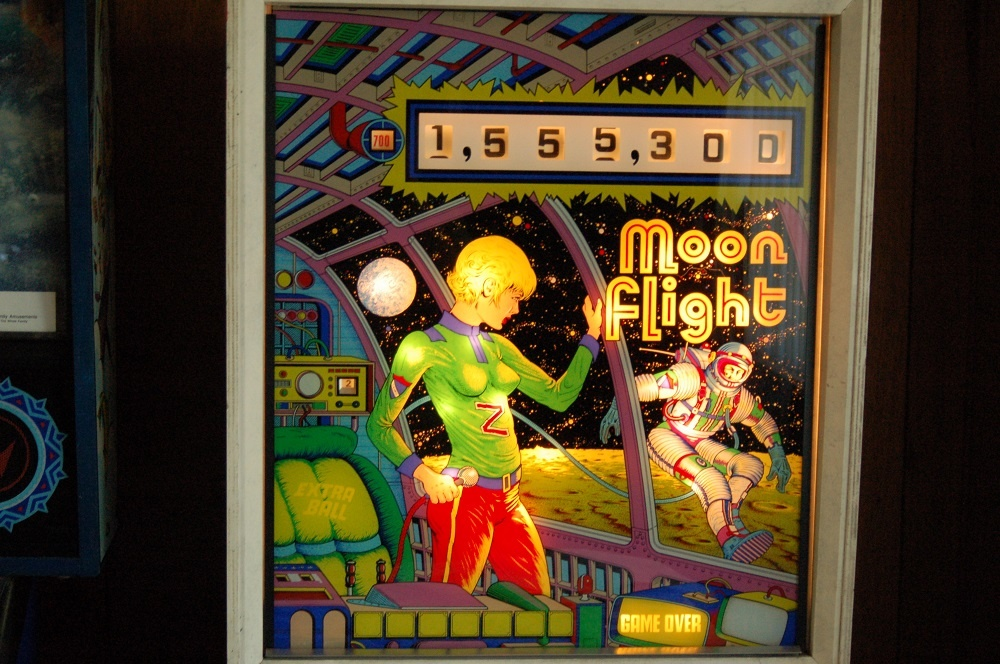 Moon Flight Pinball Mods