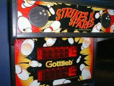 Strikes 'N Spares Pinball Mods