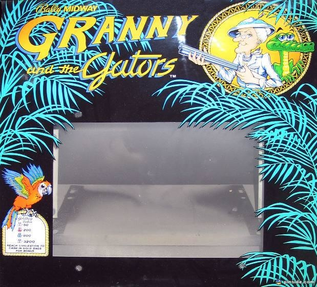 Granny and the Gators Pinball Mods