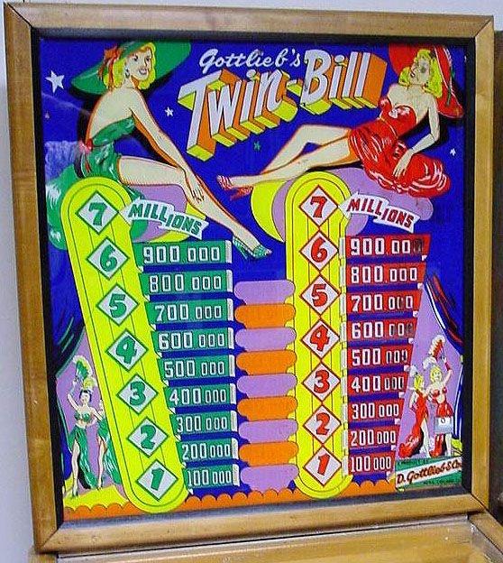 Twin Bill Pinball Mods