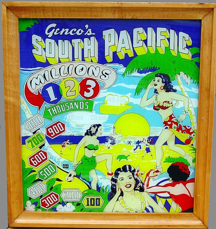 South Pacific Pinball Mods