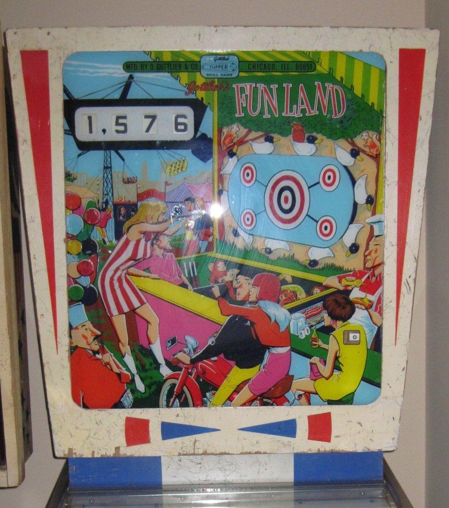 Fun Land Pinball Mods