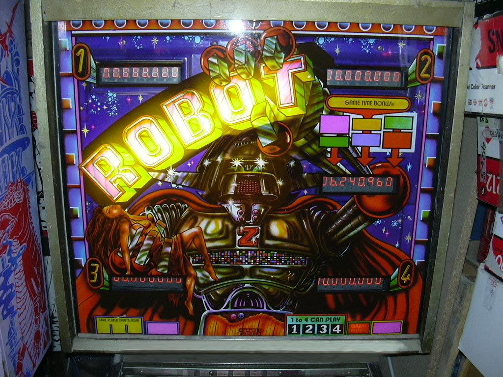 Robot Pinball Mods