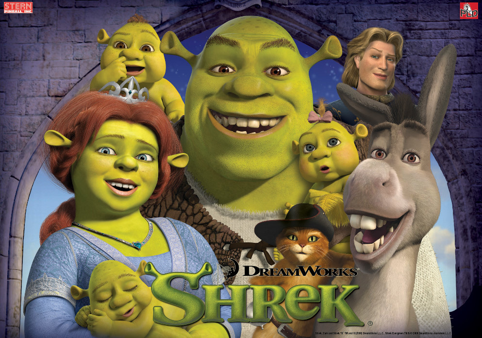 Shrek Pinball Mods