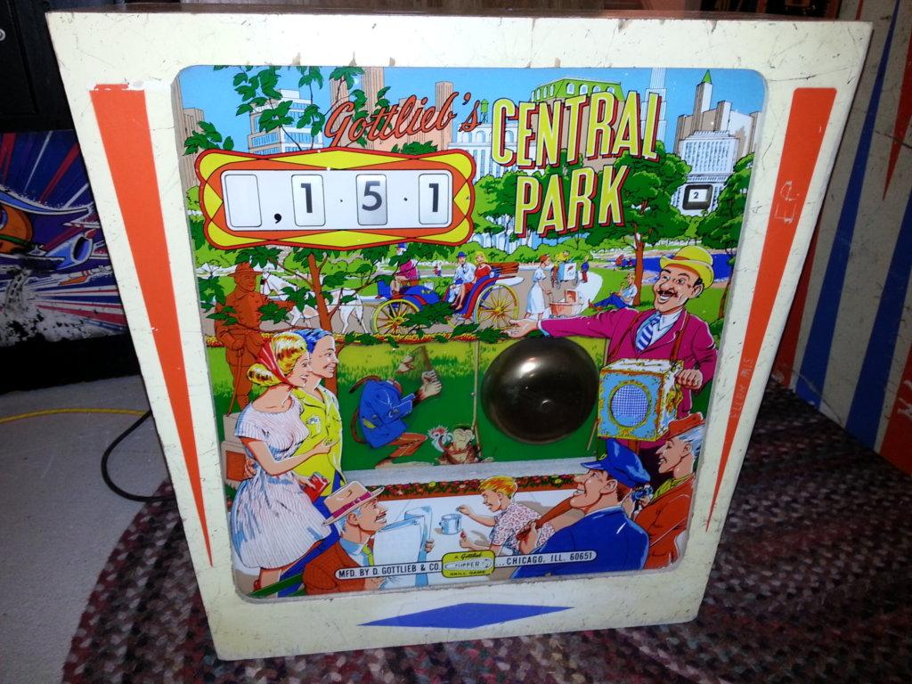Central Park Pinball Mods