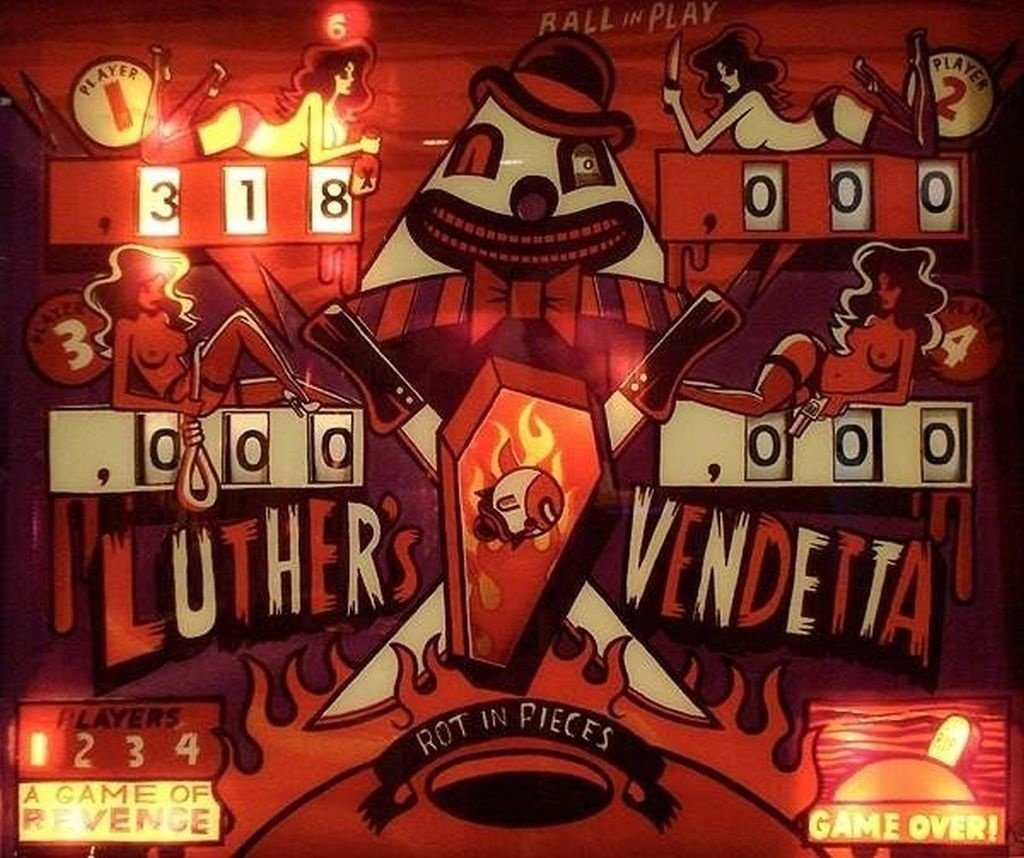 Luther's Vendetta Pinball Mods
