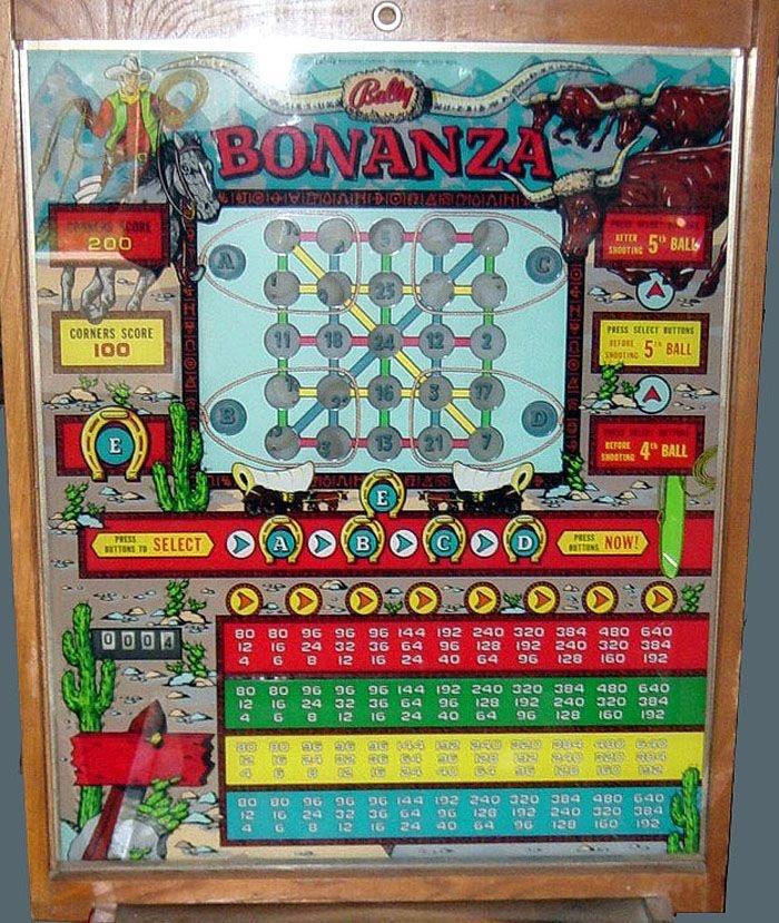 Bonanza Pinball Mods