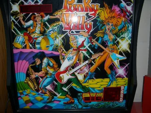 Punky Willy Pinball Mods