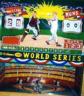 1962 World Series Pinball Mods