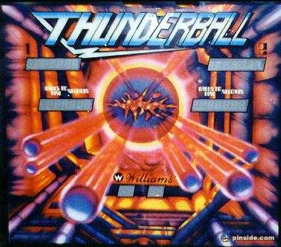Thunderball Pinball Mods