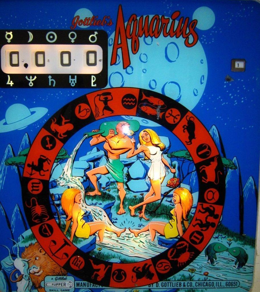 Aquarius Pinball Mods