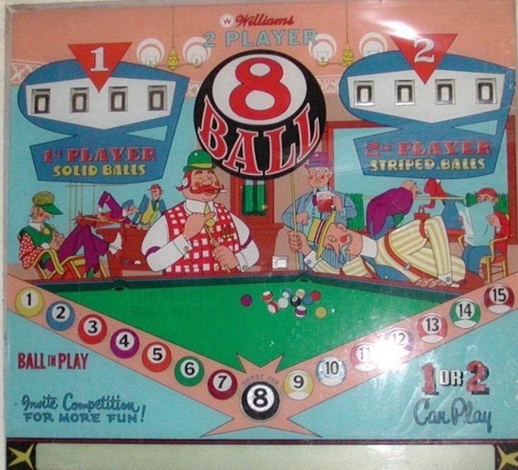 8 Ball Pinball Mods