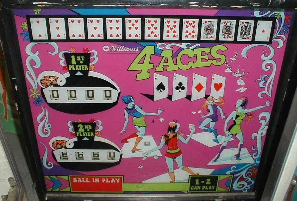 4 Aces Pinball Mods
