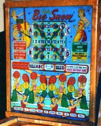 Big Show Pinball Mods
