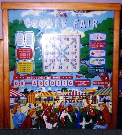 County Fair Pinball Mods