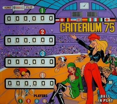 Criterium 75 Pinball Mods
