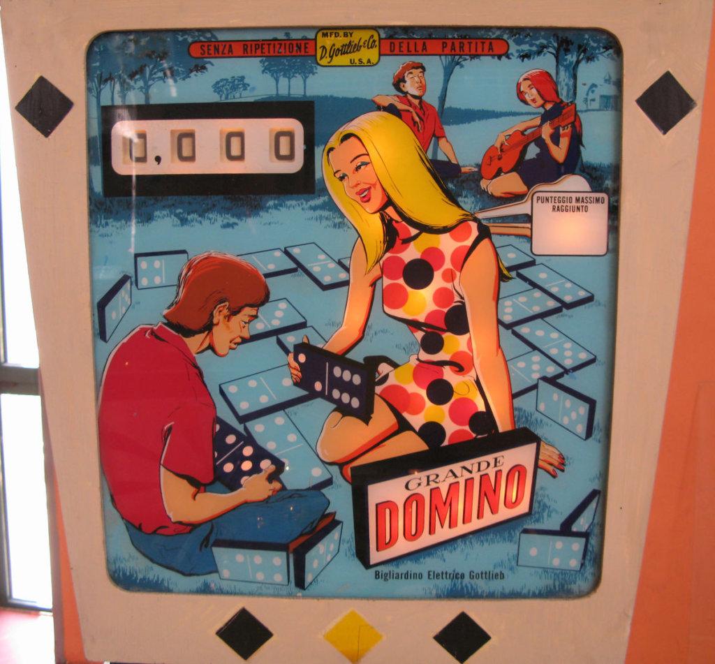 Grande Domino Pinball Mods