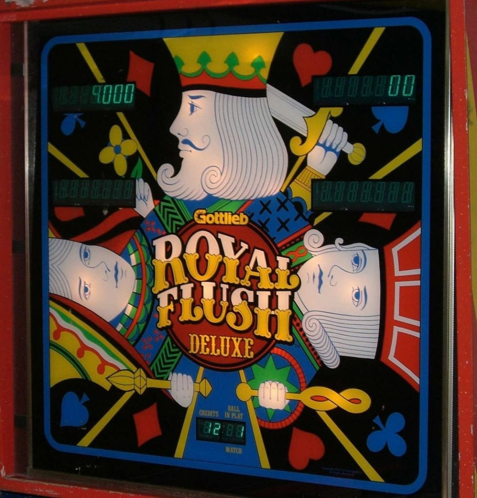 Royal Flush Deluxe Pinball Mods