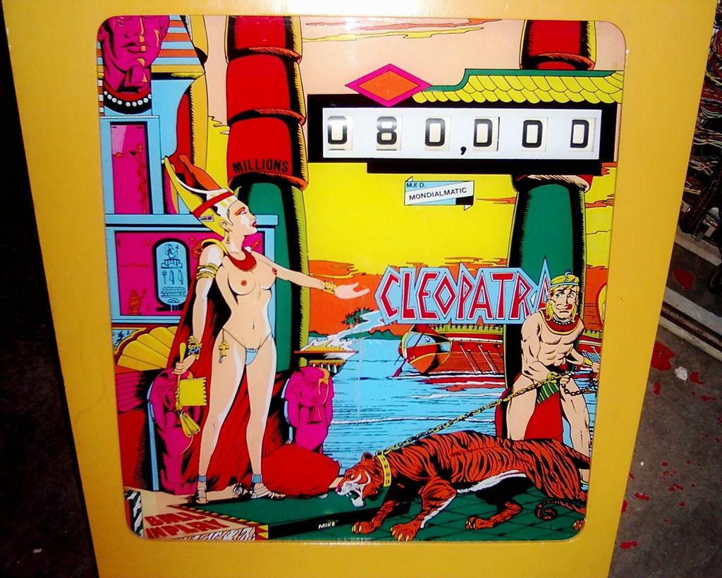 Cleopatra Pinball Mods