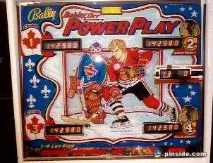 Bobby Orr's Power Play Pinball Mods