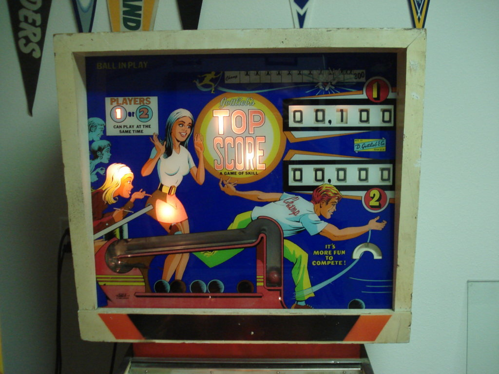 Top Score Pinball Mods