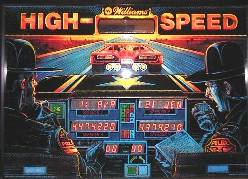High Speed Pinball Mods