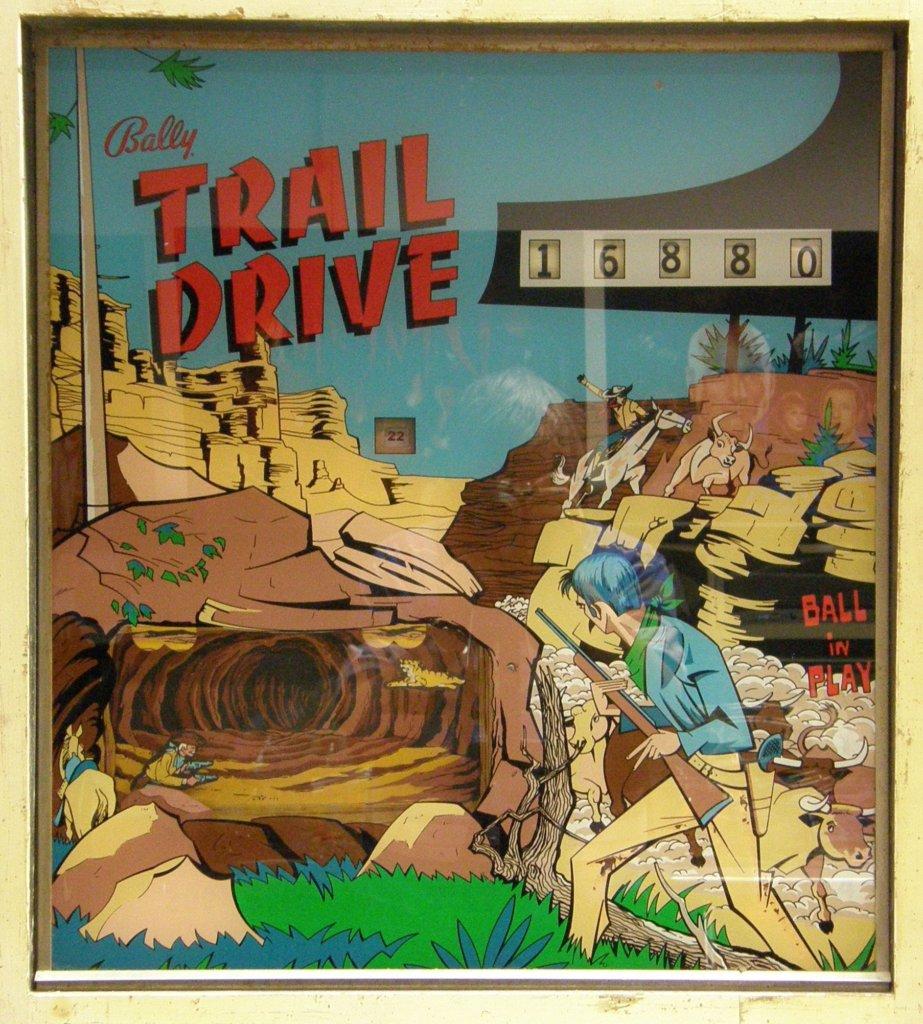 Trail Drive Pinball Mods