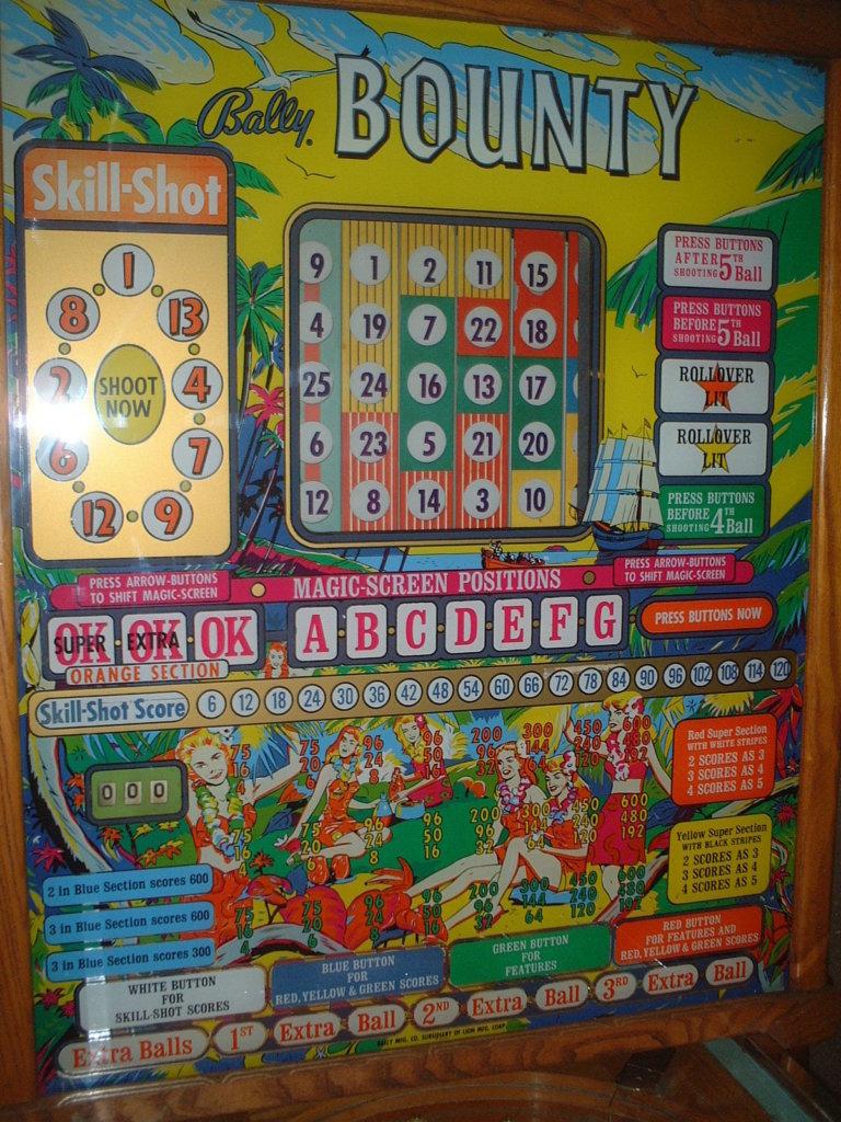 Bounty Pinball Mods