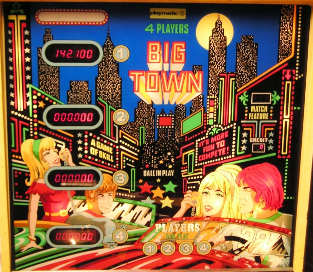 Big Town Pinball Mods
