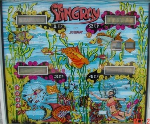 Stingray Pinball Mods
