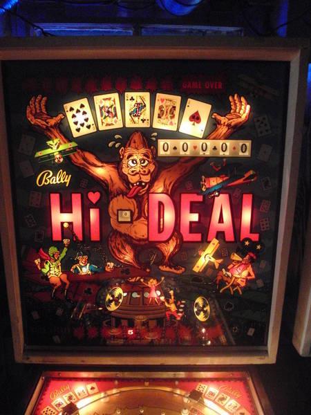 Hi-Deal Pinball Mods