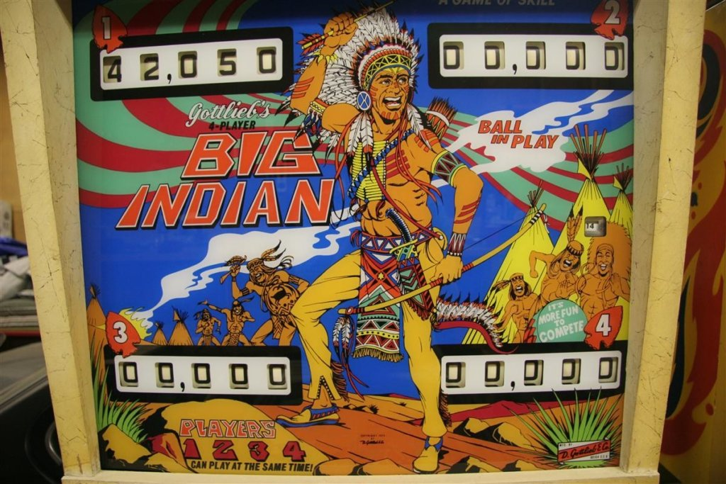 Big Indian Pinball Mods