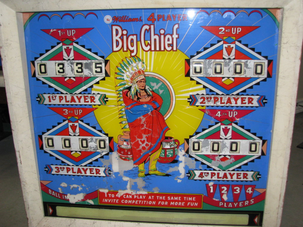 Big Chief Pinball Mods