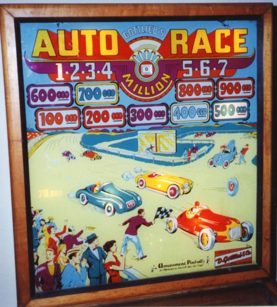 Auto Race Pinball Mods