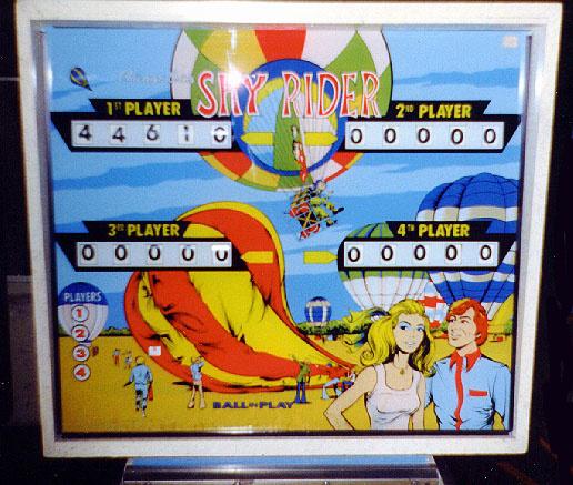 Sky Rider Pinball Mods