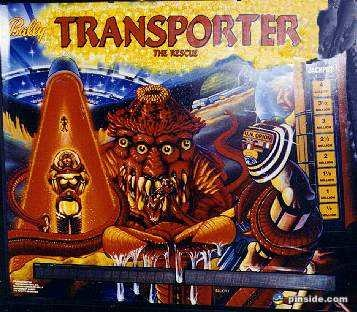 Transporter the Rescue Pinball Mods