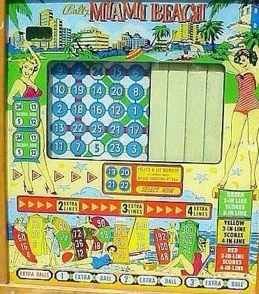 Miami Beach Pinball Mods